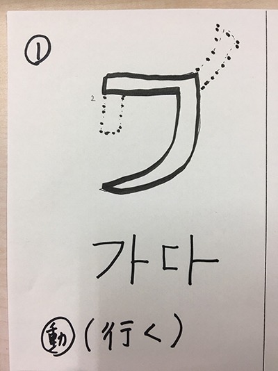 行く(インパクト単語帳)