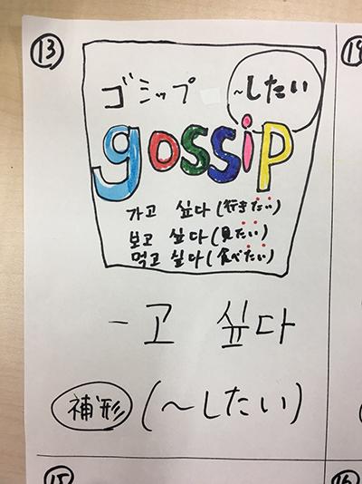 〜したい(インパクト単語帳)