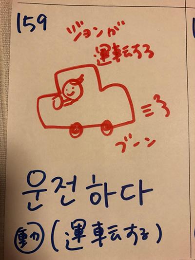 운전하다:運転する(インパクト単語帳)