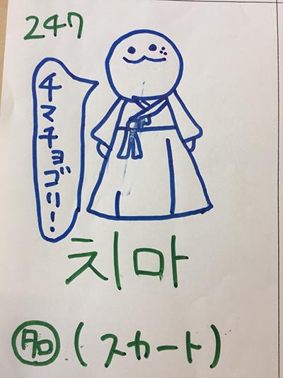 치마:スカート(インパクト単語帳)