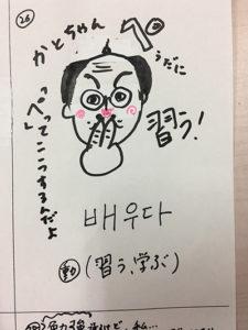 習う(インパクト単語帳)