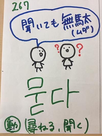 묻다:尋ねる・聞く(インパクト単語帳)