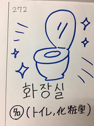 화장실:トイレ・化粧室(インパクト単語帳)