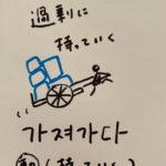 348가져가다:持っていく(インパクト単語帳)