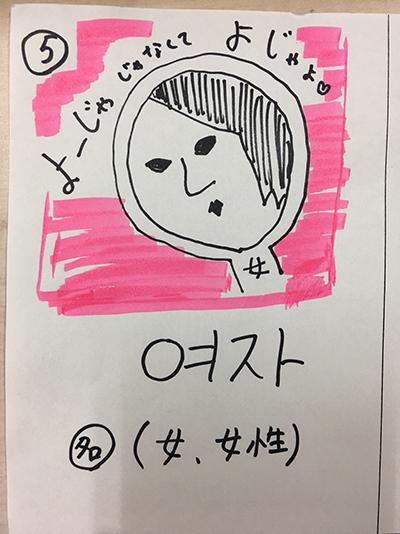 女(インパクト単語帳)