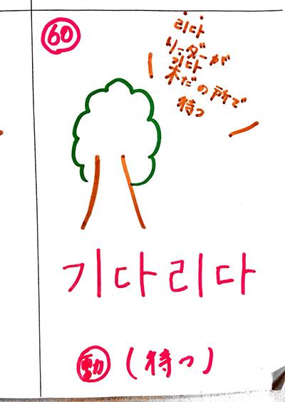待つ(インパクト単語帳)