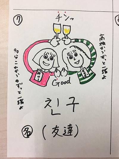 友達(インパクト単語帳)