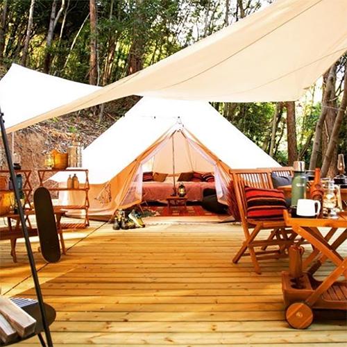 アンダのグランピング館キャンプ2